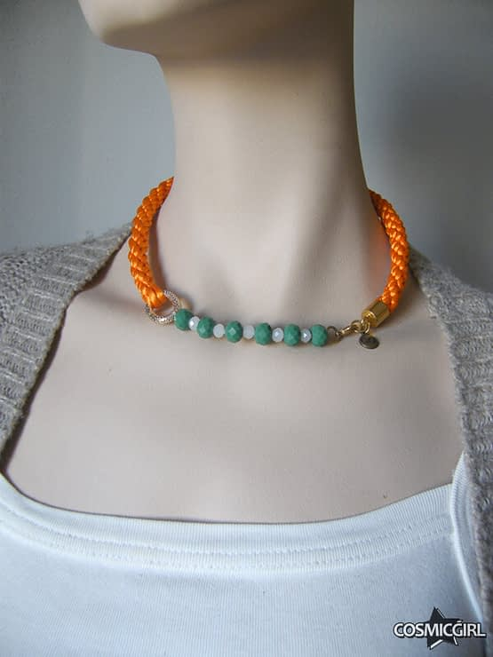 Collar Luvjan Crystal bisutería hecha a mano