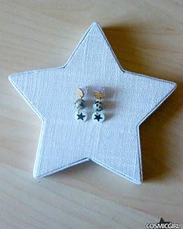 Pendiente Star Nácar bisutería artesanal CosmicGirl